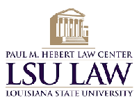 Paul M. Hebert Law Center, Louisiana State University Logo